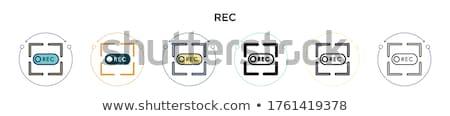Registro botão ícone soar Foto stock © Myvector
