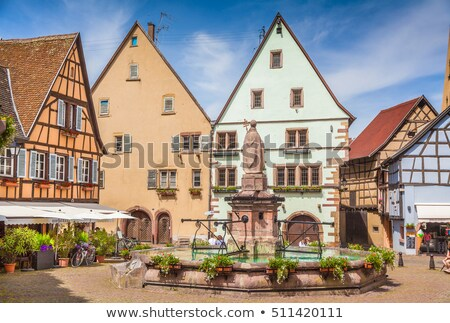 Small Village in Alsace Stock photo © tepic