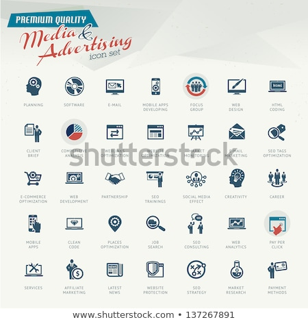 affiliate marketing concept vintage design stock photo © tashatuvango
