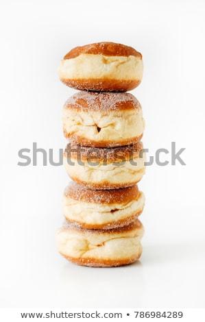 carnaval · donut · voedsel · appel · vakantie · confetti - stockfoto © m-studio