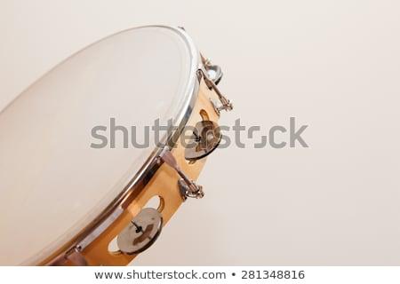 Vízszintes bézs senki tart zene fa Stock fotó © talitanicolielo