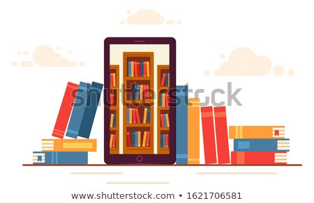 Books With Different Languages Stock photo © AndreyPopov