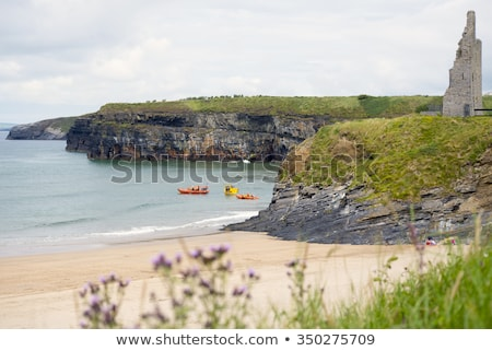 ballybunion sea and cliff rescue service training Stock photo © morrbyte