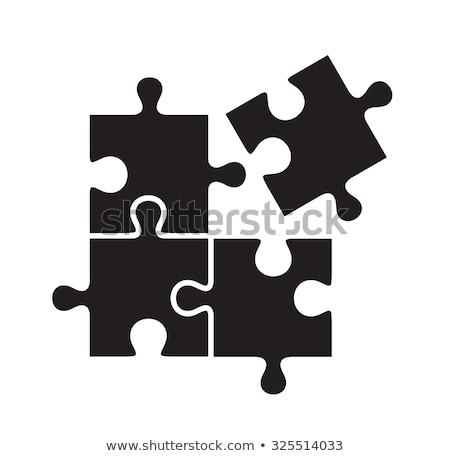 contrast puzzle Stock photo © bendzhik