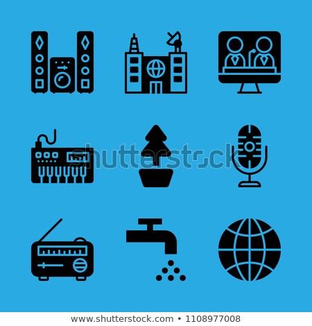 valve microphone stock photo © bigalbaloo