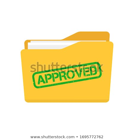 Passed Concept with Word on Folder. Stock photo © tashatuvango