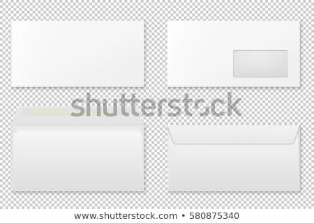 postar · envelope · carta · papel · modelo - foto stock © unkreatives
