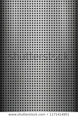 Metálico polido vetor brilhante textura do metal arte Foto stock © ExpressVectors