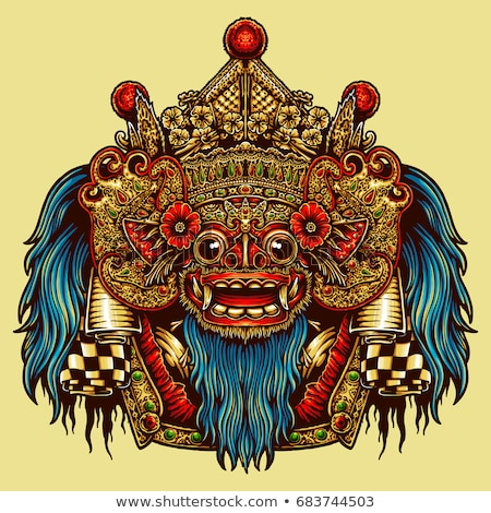 Barong Bali Mask Stock photo © photosoup