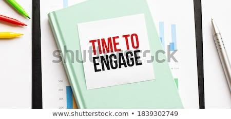 Time quality money text on notepad  Stock photo © fuzzbones0