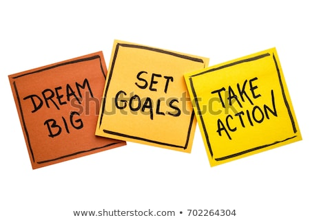 Dreams And Goals Stock photo © Lightsource