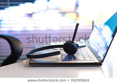 Computer keyboard round-the-clock service Stock photo © Oakozhan