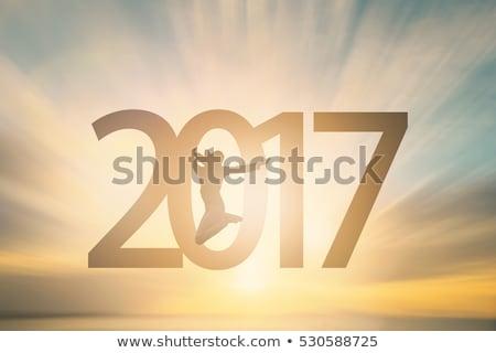 Uimitor an nou fericit sablon abstract lumina Imagine de stoc © SArts