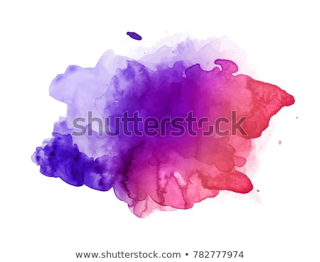 purple watercolor stain background Stock photo © SArts