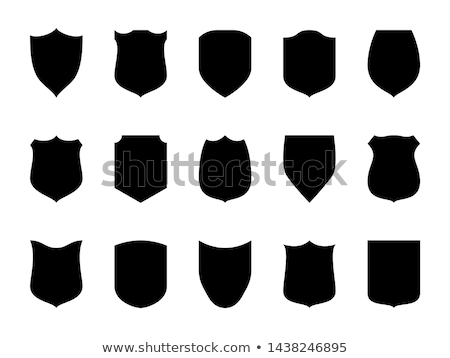 set of military armament vector silhouettes stock photo © robuart