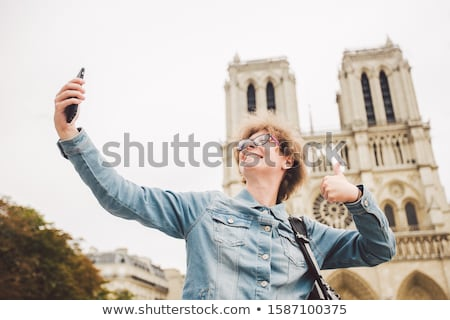 jovem · caucasiano · branco · viajante · mulher - foto stock © rastudio