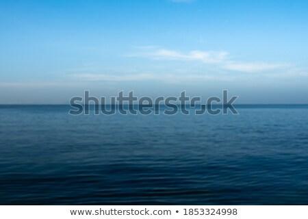mooie · daglicht · strand · lijn · Blauw - stockfoto © frimufilms