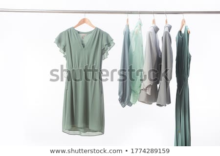 Selyem ruhafogas vektor izolált fehér divat Stock fotó © kostins