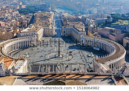 Santo piazza vaticano dettaglio chiesa cityscape Foto d'archivio © boggy
