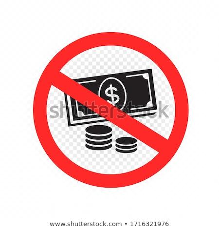 Crypto Message Button Icon. Stock photo © WaD
