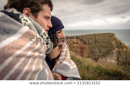 Male and female embrace Stock photo © IS2