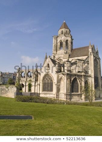 Готский Церкви интерьер старые Франция здании Сток-фото © craig
