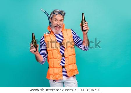 ジャケット 青 ベスト セット 男性 活発な ストックフォト © toyotoyo