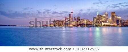 Toronto negocios centro foto paisaje urbano ontario Foto stock © sumners
