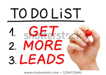 get more leads to do list concept stock photo © ivelin
