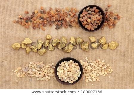 Stock photo: Frankincense Myrrh And Gold