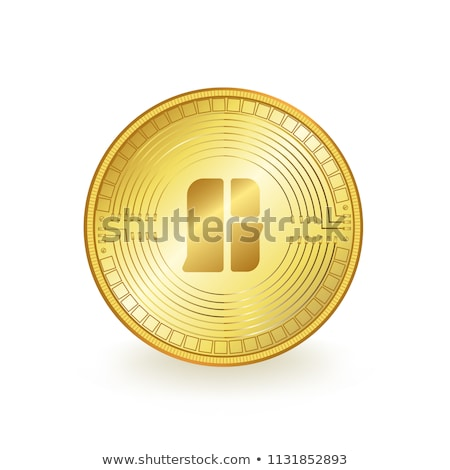 GTC - Gamecom. The Crypto Coins or Cryptocurrency Logo. Stock photo © tashatuvango