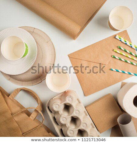 Package Made of Carton Material Products Container Stock photo © robuart