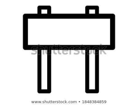 道標 グラフィックデザイン テンプレート ベクトル 孤立した 実例 ストックフォト © haris99