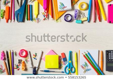 事務用品 学校 孤立した 実例 オフィス ストックフォト © bluering