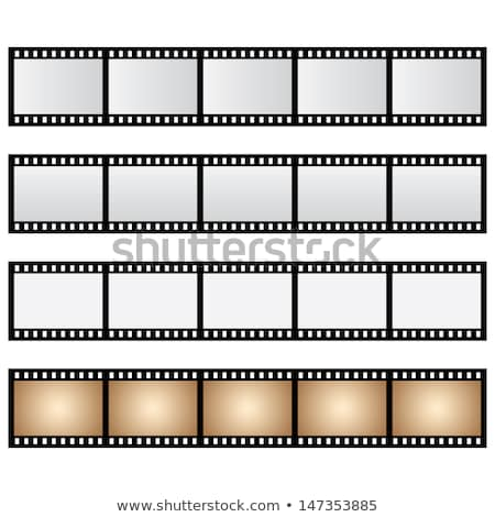 Film Strip For Video Camera Color Vector Stock photo © pikepicture