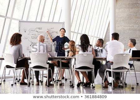 Planning and Expectations, Business and Work People Stock photo © robuart