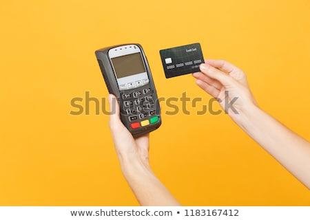 ATM Machine nobody electronic banking cards bank Stock photo © vilevi