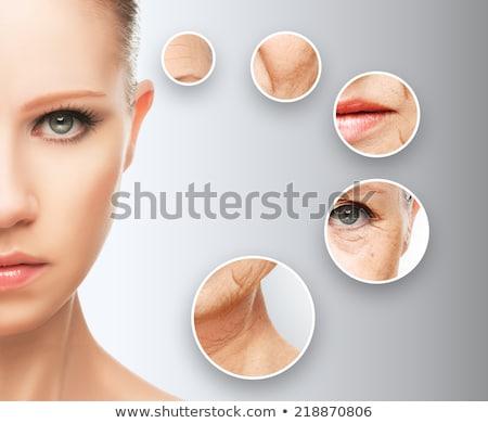 Faccia ascensore trattamento invecchiamento cura della pelle bellezza Foto d'archivio © Maridav