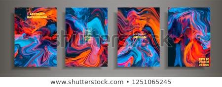 抽象的な · カラフル · 波 · パーティ · デザイン · 芸術 - ストックフォト © rioillustrator