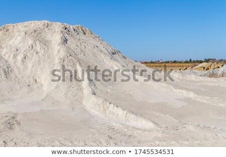 arid spoil pile Stock photo © prill