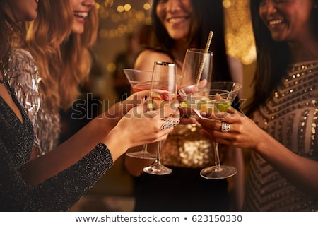 Woman at a cocktail party Stock photo © photography33