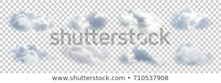 White cloud pattern Stock photo © Arrxxx