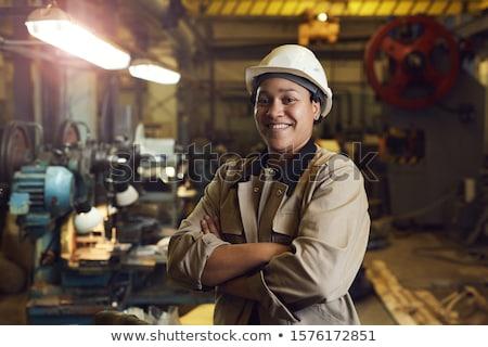 Stock photo: Portrait of a handywoman