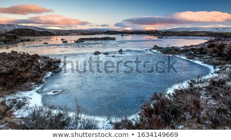 dawn in the scottish highlands Stock photo © unkreatives
