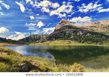 湖 hdr 夏 風景 合格 イタリア ストックフォト © Antonio-S