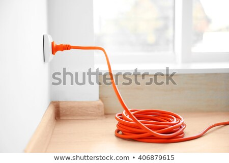 Stok fotoğraf: Extension Cord With Plug