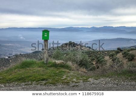 メールボックス ネバダ州 スペイン ツリー 光 背景 ストックフォト © Fesus