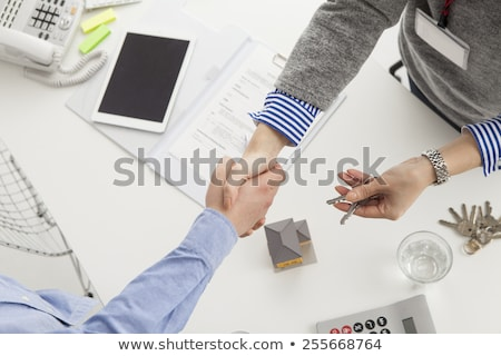 real-estate promoter and couple Stock photo © photography33