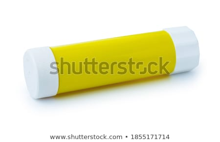 White with green glue container Stock photo © shutswis