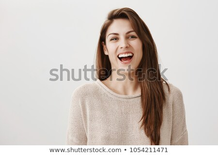 Brunette grinning Stock photo © photography33